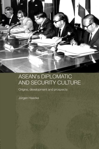 9780415546324: ASEAN's Diplomatic and Security Culture: Origins, Development and Prospects