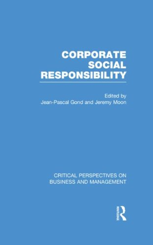 9780415548045: Corporate Social Responsibility (Critical Perspectives on Business and Management)