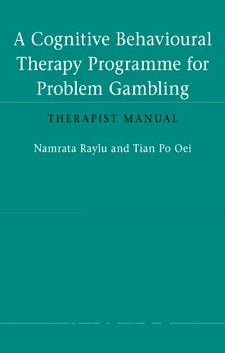 9780415548168: A Cognitive Behavioural Therapy Programme for Problem Gambling: Therapist Manual