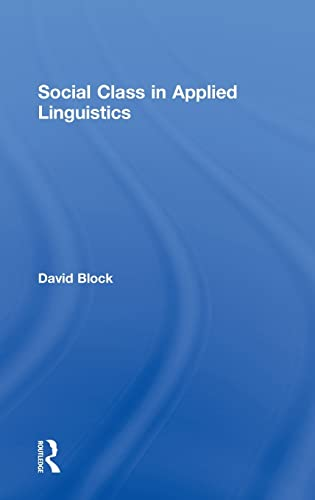 9780415548175: Social Class in Applied Linguistics