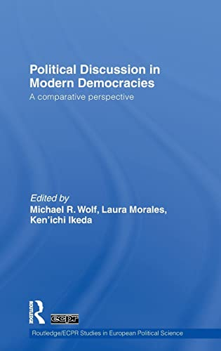 9780415548458: Political Discussion in Modern Democracies: A Comparative Perspective (Routledge/ECPR Studies in European Political Science)