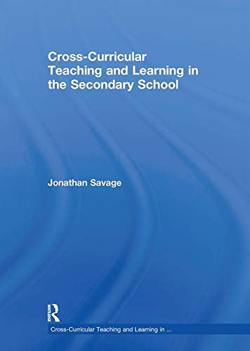 9780415548588: Cross-Curricular Teaching and Learning in the Secondary School