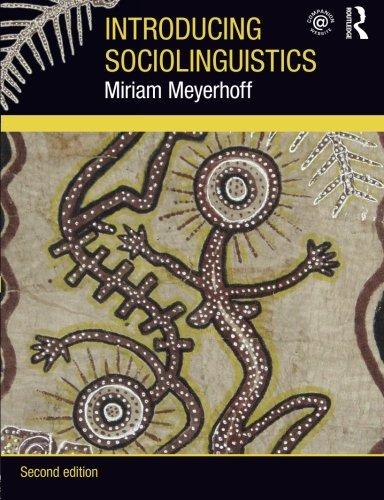 9780415550062: Introducing Sociolinguistics, 2nd edition