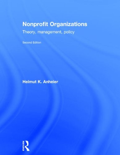 9780415550468: Nonprofit Organizations: Theory, Management, Policy