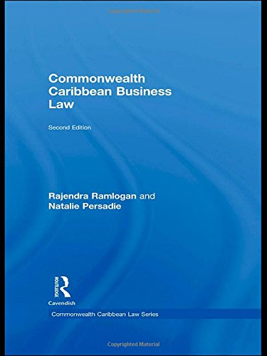 9780415550499: Commonwealth Caribbean Business Law (Commonwealth Caribbean Law)