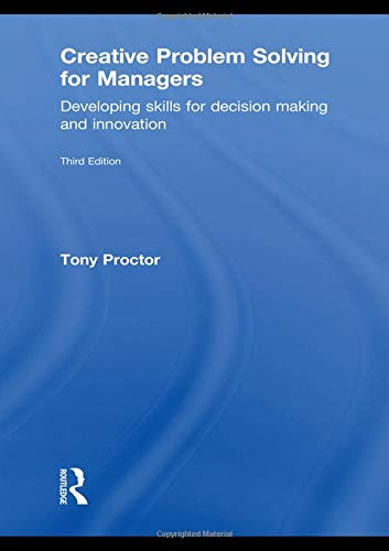 9780415551106: Creative Problem Solving for Managers: Developing Skills for Decision Making and Innovation