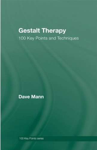 9780415552936: Gestalt Therapy: 100 Key Points and Techniques