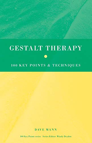 9780415552943: Gestalt Therapy: 100 Key Points and Techniques