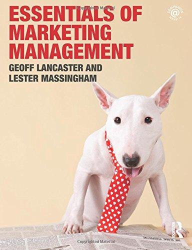 9780415553476: Essentials of Marketing Management