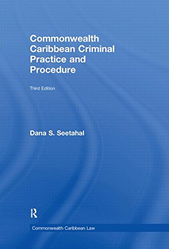9780415554855: Commonwealth Caribbean Criminal Practice and Procedure (Commonwealth Caribbean Law)