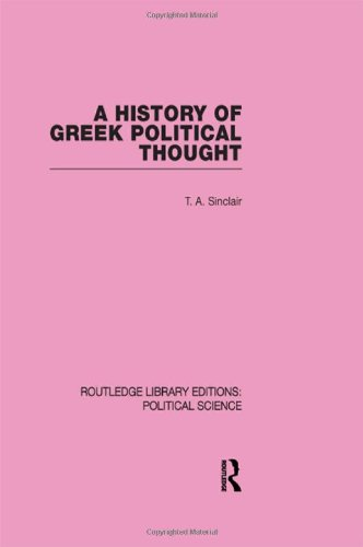 9780415555746: A History of Greek Political Thought (Routledge Library Editions: Political Science Volume 34)