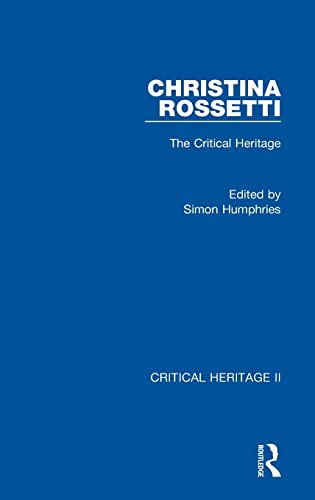 9780415556132: Christina Rossetti