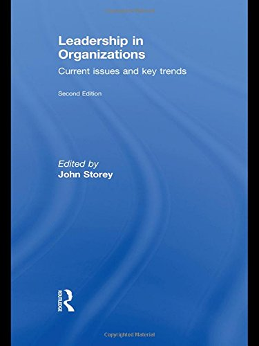 9780415557054: Leadership in Organizations: Current Issues and Key Trends