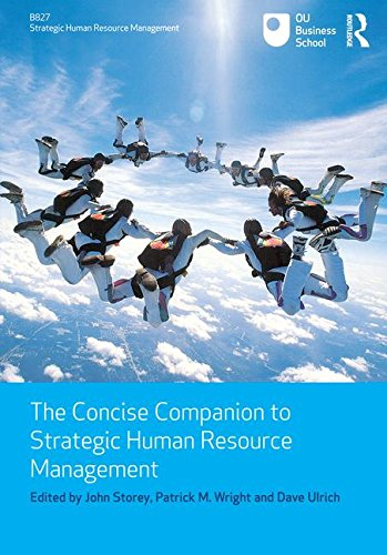 9780415557191: The Concise Companion to Strategic Human Resource Management