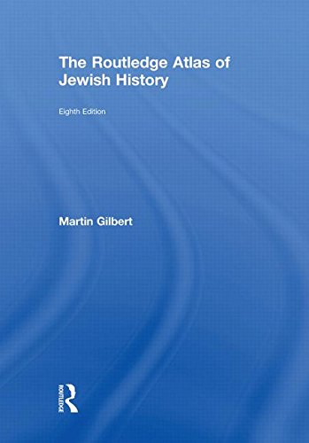 9780415558105: The Routledge Atlas of Jewish History (Routledge Historical Atlases)