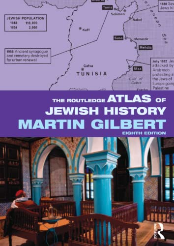 9780415558112: The Routledge Atlas of Jewish History (Routledge Historical Atlases)