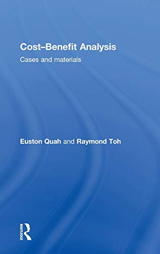 9780415558808: Cost-Benefit Analysis: Cases and Materials