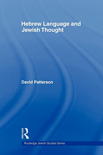 9780415558877: Hebrew Language and Jewish Thought (Routledge Jewish Studies Series)