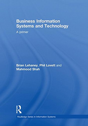 9780415559188: Business Information Systems and Technology: A Primer (Routledge Series in Information Systems)