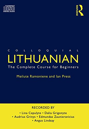 9780415560931: Colloquial Lithuanian: The Complete Course for Beginners (Colloquial Series)