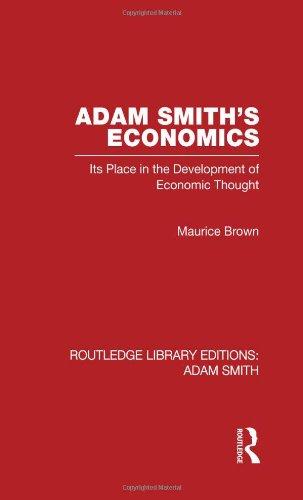 9780415562010: RLE: Adam Smith: 5-Volume Set: Adam Smith's Economics: Its Place in the Development of Economic Thought: Volume 1