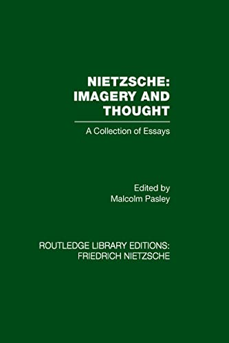 9780415562249: Nietzsche: Imagery and Thought: A Collection of Essays