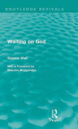 9780415562386: Waiting on God (Routledge Revivals)
