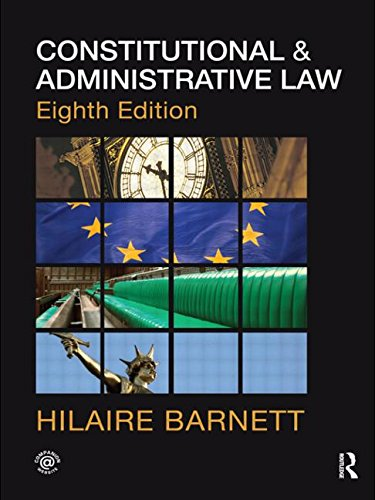 9780415563017: Constitutional & Administrative Law (Volume 1)