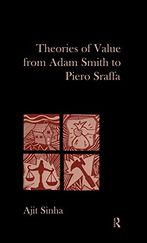 9780415563208: Theories of Value from Adam Smith to Piero Sraffa