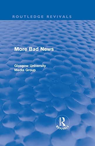 9780415563772: More Bad News: 2 (Routledge Revivals)