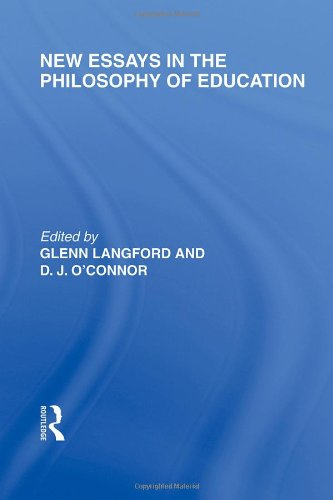 9780415564519: New Essays in the Philosophy of Education (International Library of the Philosophy of Education Volume 13)