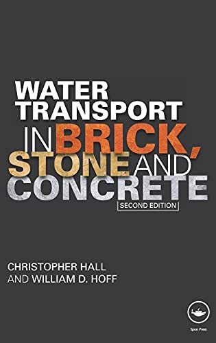 9780415564670: Water Transport in Brick, Stone and Concrete