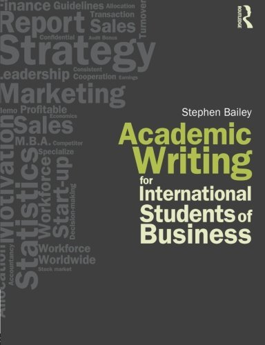 9780415564717: Academic Writing for International Students of Business