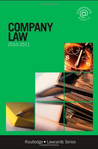 9780415565400: Company Lawcards 2010-2011