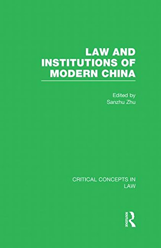 9780415565455: Law and Institutions of Modern China