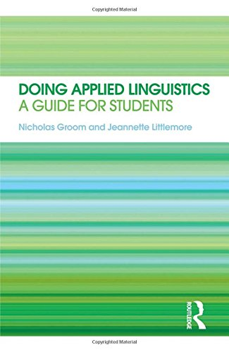 9780415566414: Doing Applied Linguistics: A guide for students