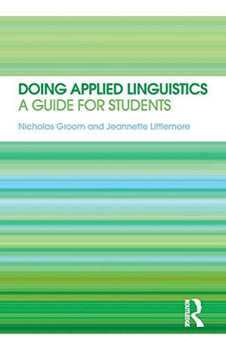 9780415566421: Doing Applied Linguistics: A guide for students
