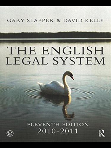 9780415566957: The English Legal System: 2010-2011 (Volume 2)
