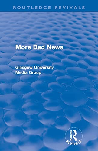 9780415567909: More Bad News (Routledge Revivals) (Routledge Revivals: Bad News)