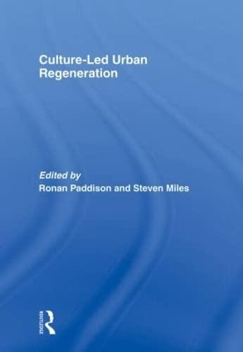 9780415568524: Culture-Led Urban Regeneration