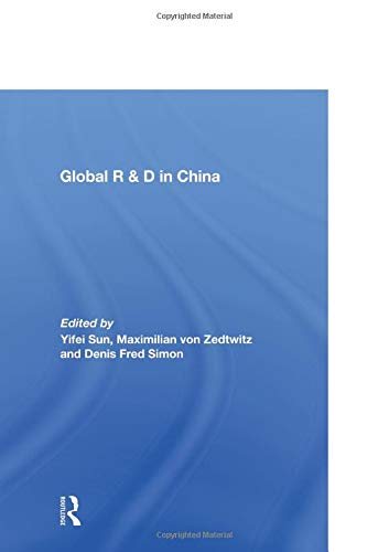 9780415568661: Global R&D in China