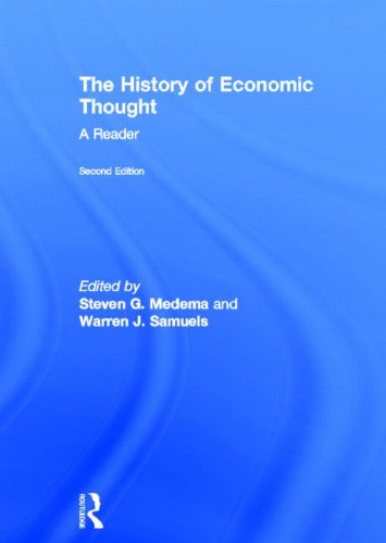 9780415568678: The History of Economic Thought: A Reader; Second Edition