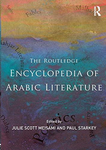 Routledge Encyclopedia Of Arabic Literat: Starkey, Paul (edt);