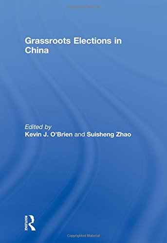 9780415571579: Grassroots Elections in China