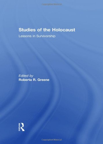 9780415571722: Studies of the Holocaust: Lessons in Survivorship