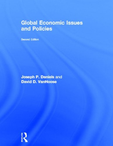 9780415572323: Global Economic Issues and Policies