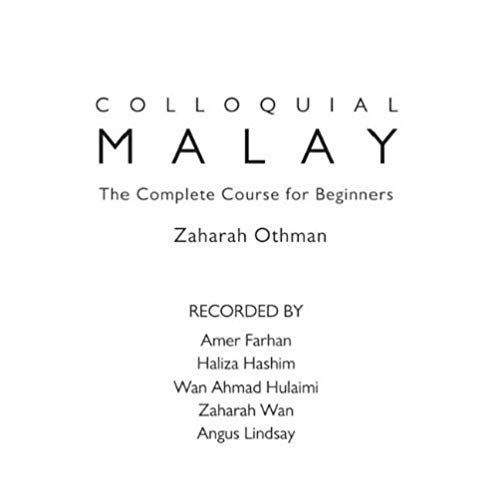 9780415572514: Colloquial Malay: The Complete Course for Beginners
