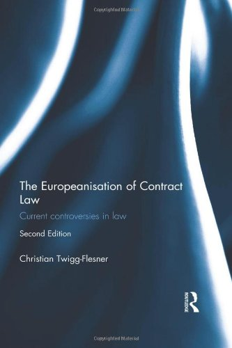 9780415574037: The Europeanisation of Contract Law: Current Controversies in Law
