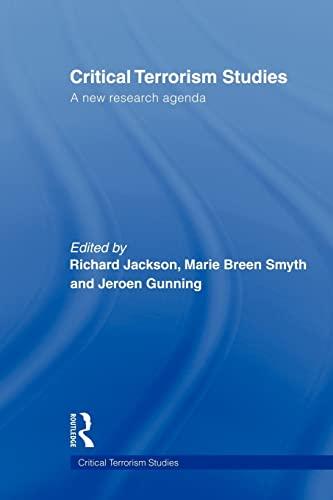 9780415574150: Critical Terrorism Studies: A New Research Agenda