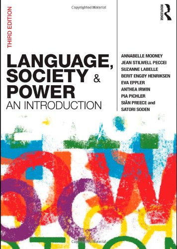9780415576598: Language, Society and Power: An Introduction